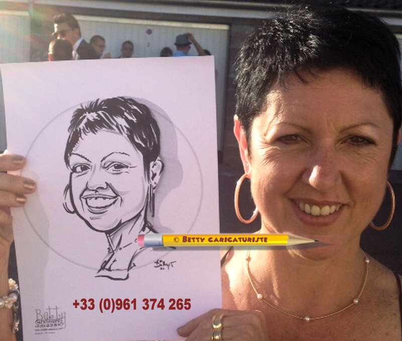 caricaturiste luxembourg thionville animation mariage