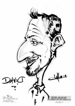 caricature La Flo
