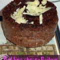 Un pudding au chocolat sublimé par le baileys !