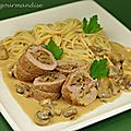 Paupiettes de veau  l'italienne