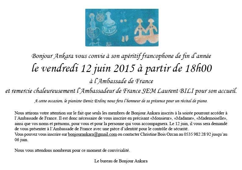 Apéro Francophone 06-2015
