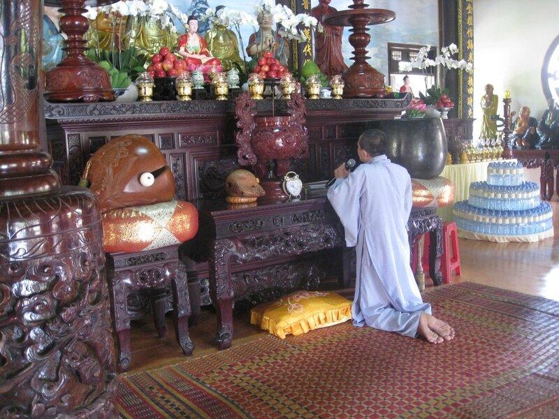 pagode Chuc Thanh à Tho Cam