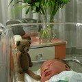 à la maternité