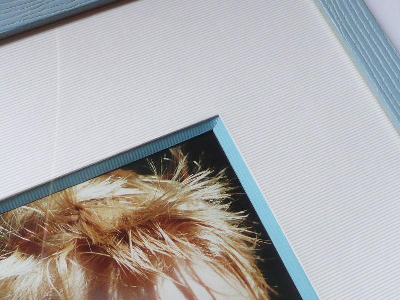 biseau anglais bleu - détails