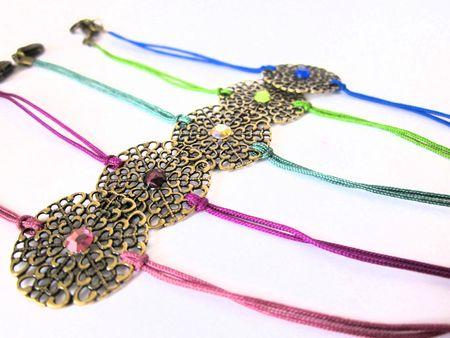 bracelets estampe et cristal 006