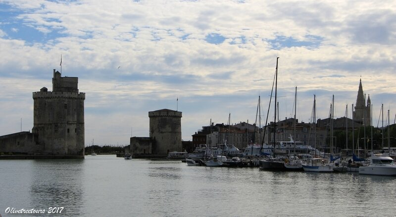 Tours du front de mer / Towers of the seafront, La Rochelle