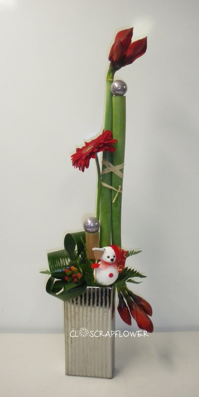Une nouvelle semaine closcrapflower for Amaryllis fleuriste