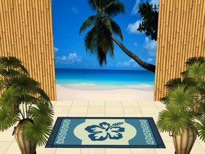 poster_plage_turquoise