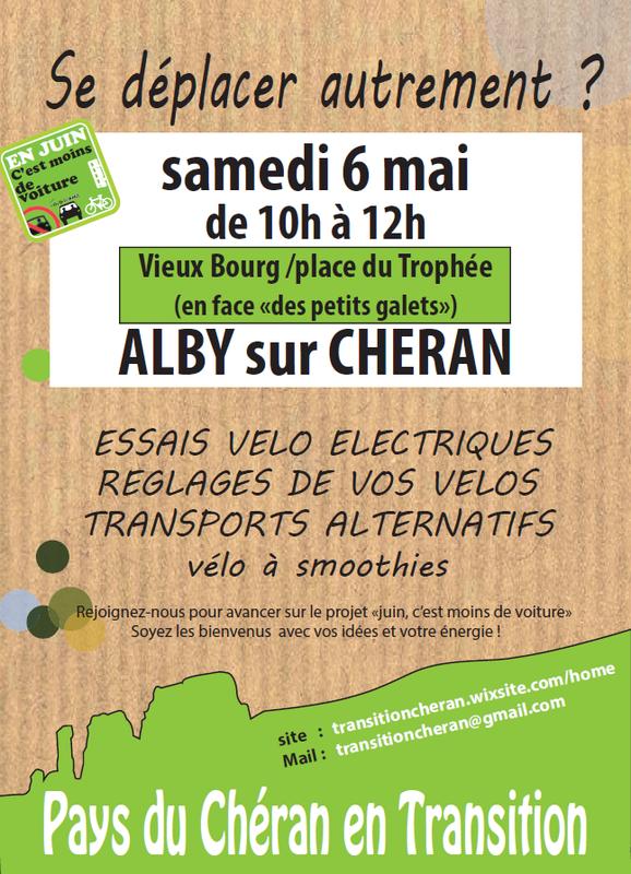6 mai Alby sur Chéran