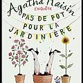 Pas de pot pour la jardinière - m.c. beaton - editions albin michel