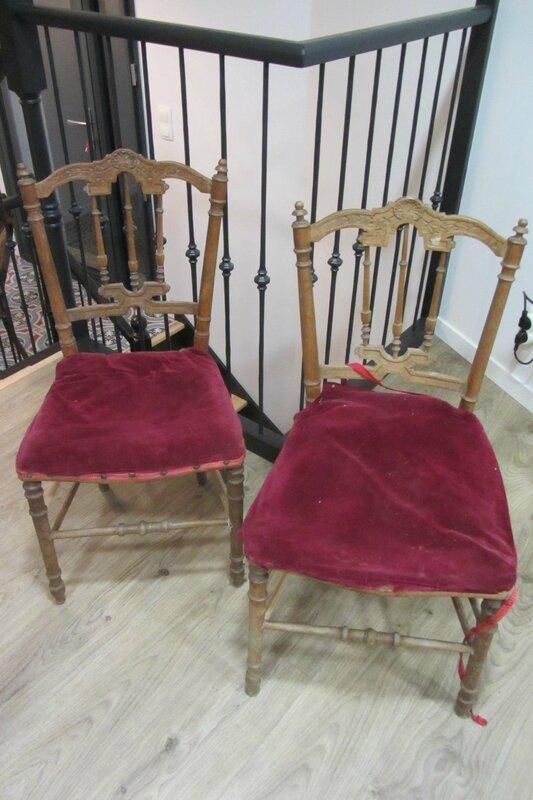 paire de chaises à vendre