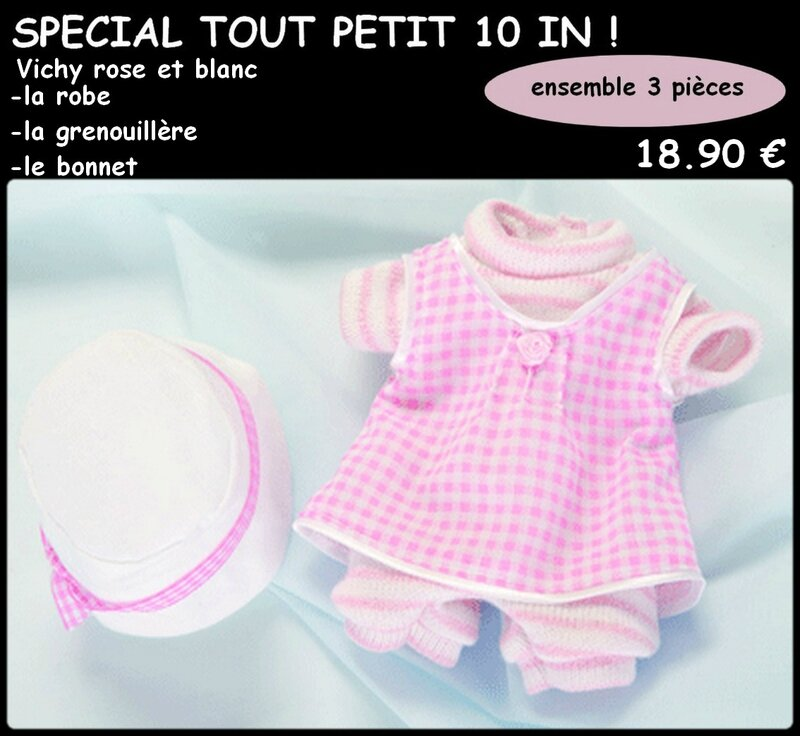 mini ensemble vichy