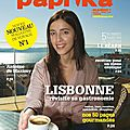 Paprika Magazine, le nouveau magazine de voyage culinaire ! {Rsultat du concours inside}