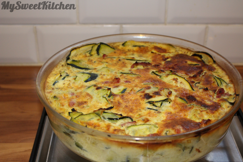 Gratin courgettes 2