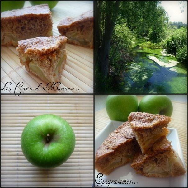 Gateau Pommes Cannelle 2