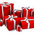 Gouzmirêves s'occupe de préparer vos paquets cadeaux et le père noël passe les chercher quand il le souhaite ;)