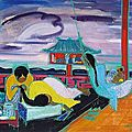 Andr Maire (1898 - 1984), La sieste, Indochine, 1957