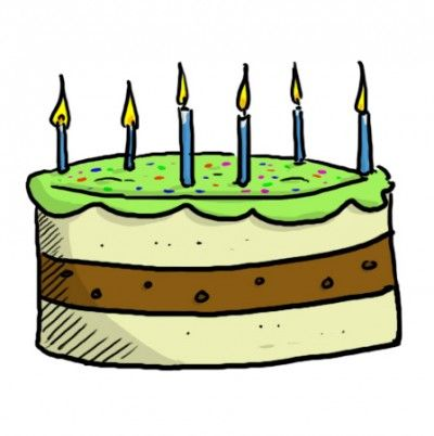 Dessin gateau 6 bougies home baking for you blog photo - Dessin bougies anniversaire ...