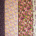 Tissu floraux