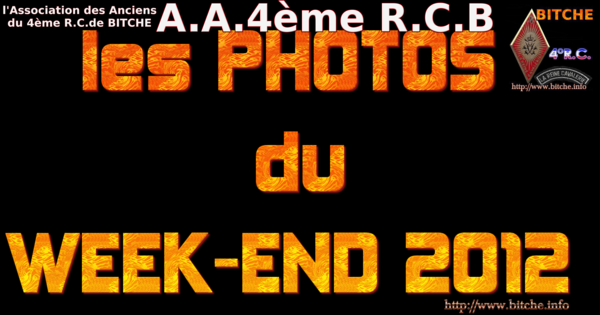les PHOTOS du WEEK-END 2012 001