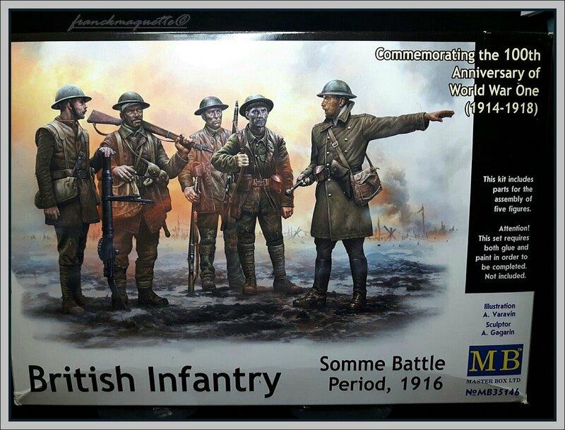 Figurine anglaise boite MB
