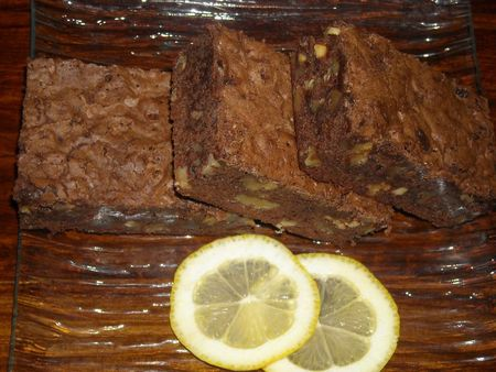 brownies agrume 4