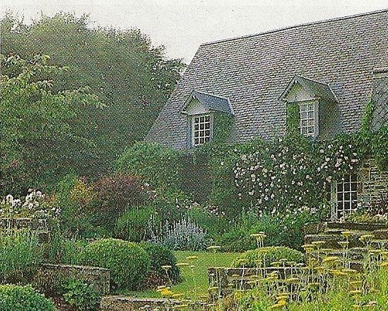 Historique de mon jardin 3 5 le cottage de gwladys for Jardin style cottage anglais