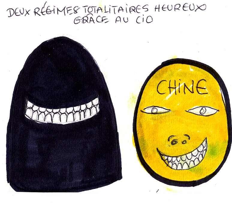 Deux régimes totalitaires heureux