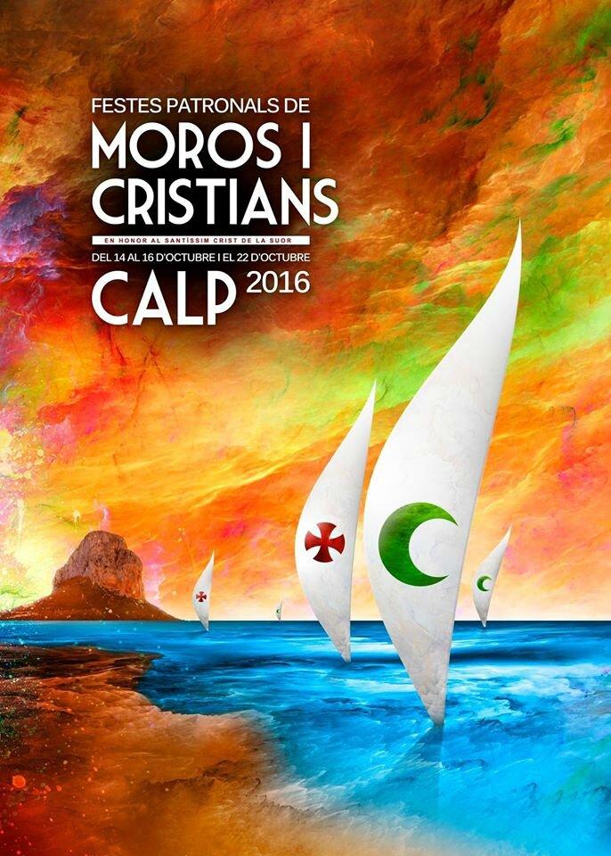Programme des fêtes patronales MOROS I CRISTIANS 2016