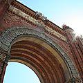 Arc de Triomphe, Barcelone / Espagne-Catalogne *Lloas