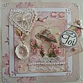 Cartes shabby chic