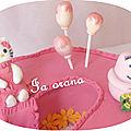 Modelages Hello Kitty et Barbapapa