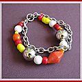 bracelet coloré (Br33)