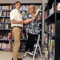 Création d'une bibliothèque pour les salariés du auchan de toulouse