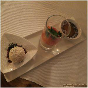 Freyenstein Trois desserts J&W