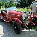 Alfa romeo 1750 Gran Sport Kompressor de 1930 (37ème Internationales Oldtimer meeting de Baden-Baden) 01
