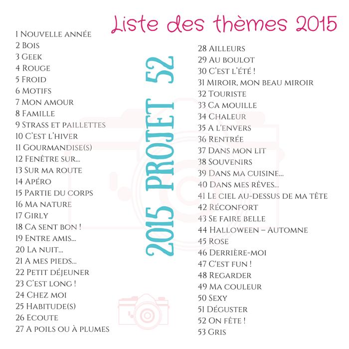 Projet 52-2015