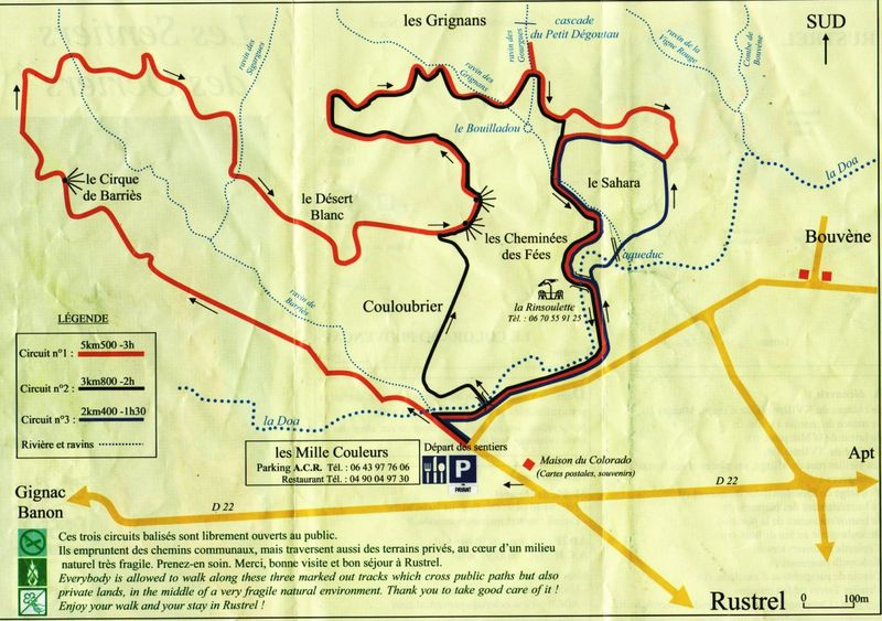 Les ocres de rustrel colorado provencal jo tourtit for Colorado plan