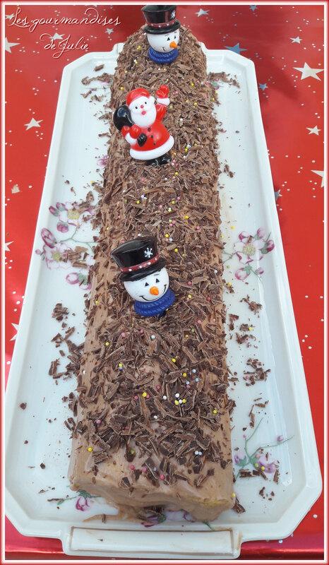 bûche roulée chocolat praliné 01
