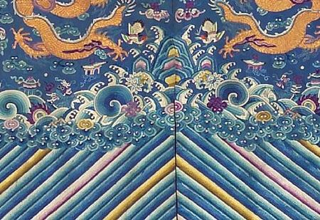 A_blue_silk_ground_embroidered_dragon_robe3