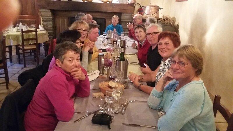 Au restaurant au Bleymard
