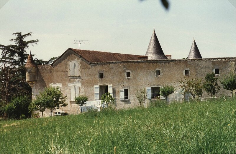 côté Sud du château