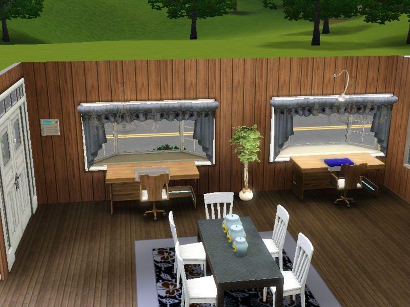 Esprit sims3 maison a telecharger gratuitement for Centre de table salle a manger