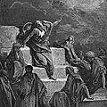Du statut du philosophe prophète, entre autres...
