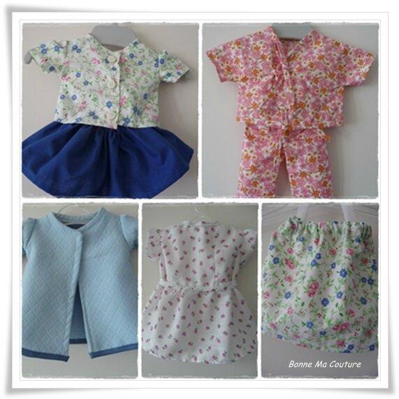 habits pour poupée
