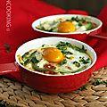 Huevos rancheros (oeufs à la mexicaine)