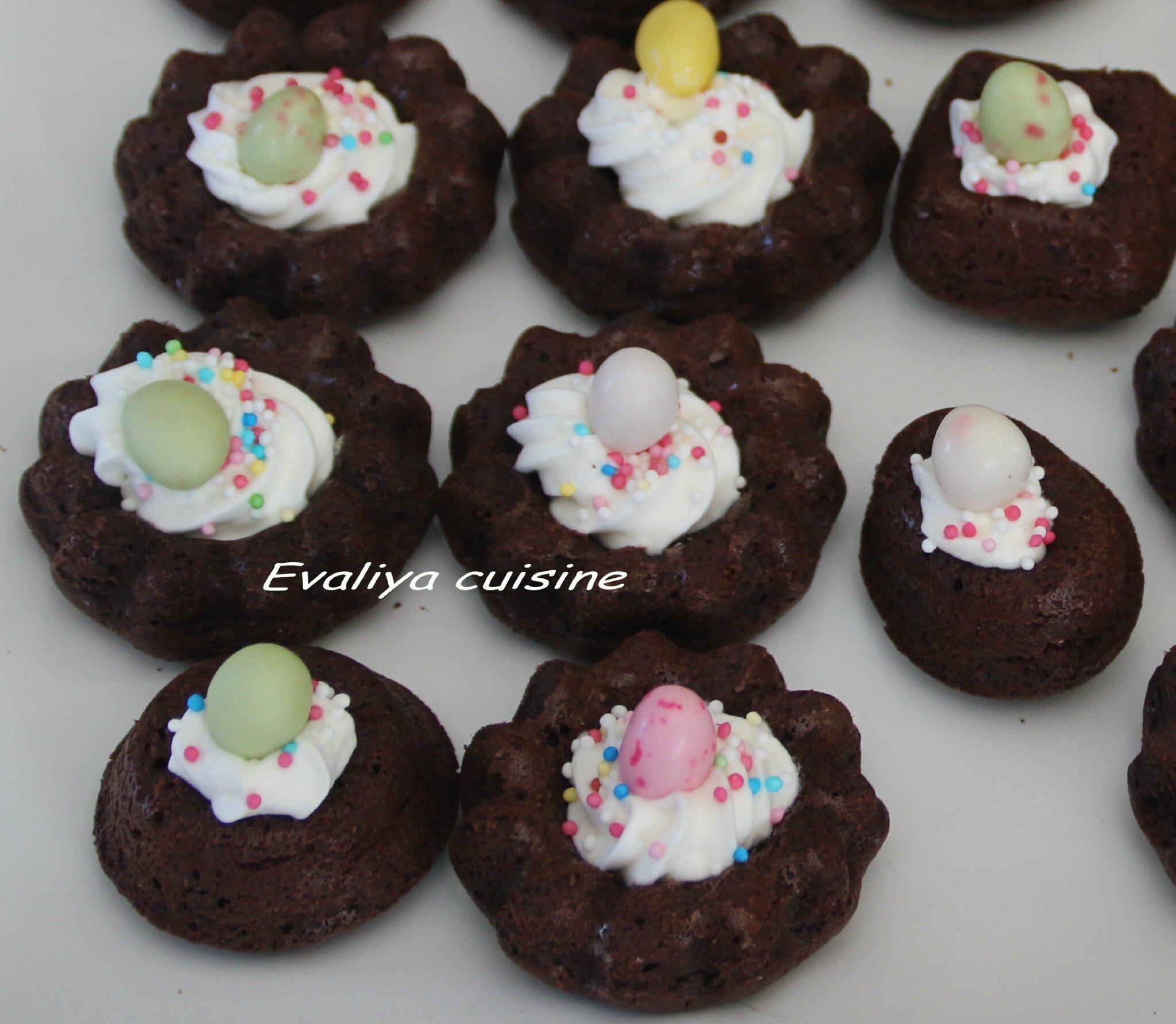 PETITS NIDS CHOCOLAT-FEVE TONKA