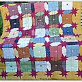 PATCHWORK SASHING STAR
