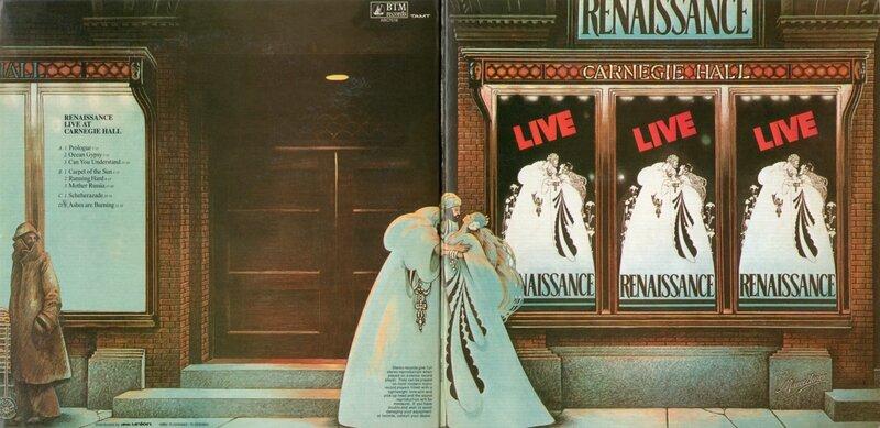 Renaissance - Live at Carnegie Hall (Japan) - Booklet