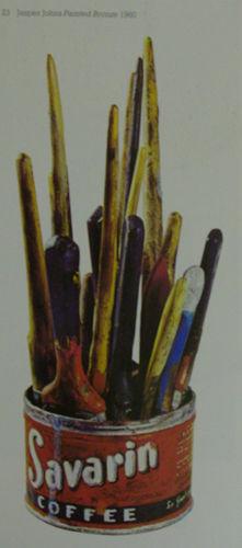Jasper Johns, Bronze peint, 1960